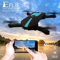 Máy bay chụp ảnh selfie – Flycam JY018 (Đen phối xanh)