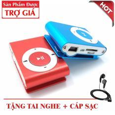 Máy nghe nhạc MP3 MINI – Tặng tai nghe + Cáp sạc