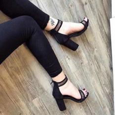 [ẢNH THẬT] Giày cao gót sandal 7 phân quai lưới SD20