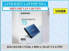 Ổ cứng SSD di động Samsung T5 500GB giao tiếp USB 3.1