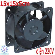 Quạt thông hút gió 15x15x5cm – 220V – quạt tản nhiệt