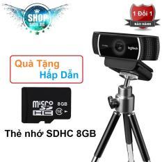 Webcam Logitech C922 quay Full HD có kèm Tripod – Hàng nhập khẩu