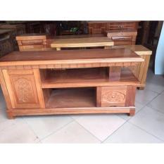 Kệ tivi kệ nhật gỗ xoan đào