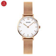 Đồng hồ nữ SKMEI 1181 cao cấp 28mm (Vàng hồng) + Tặng Hộp đựng đồng hồ thời trang & Pin