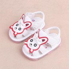 Sandal cho bé gái có đèn mẫu chú mèo dễ thương – SD64-010