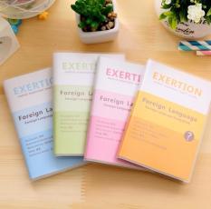 Sổ học từ vựng 4 màu pastel