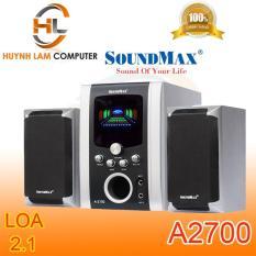Loa vi tính 2.1 SoundMax A2700 âm thanh sống động như ở bar – Hỗ trợ karaok âm thanh tuyệt vời