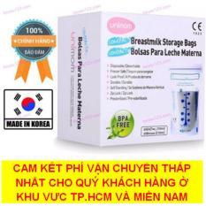 Bộ 60 túi trữ sữa mẹ không có BPA 210ml UNIMOM COMPACT UM870268 (Hàn Quốc) (CHẤT LƯỢNG & GIÁ RẺ SO VỚI CÁC THƯƠNG HIỆU: MEDELA, LANSINOH, SPECTRA,…) (Hot)