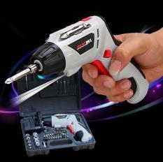 Bộ máy khoan và vặn ốc vít đa năng có sạc tích điện Joust Max (Trắng) -Khoan băn vit không dây – dùng pin 4.8V, máy khoan, bắn vit, máy khoan cầm tay, may khoan pin