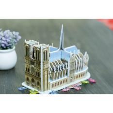 Mô hình lắp ghép trí tuệ 3D Cubic Fun – Nhà thờ Đức bà Paris
