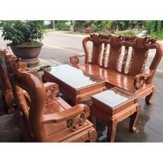 Bộ bàn ghế tựa cổ minh quốc đào tay 10 và tay 12 gỗ sồi nga