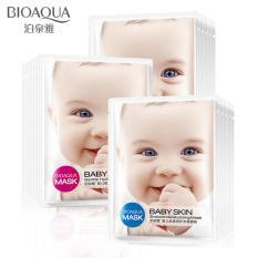 Bộ 10 mặt nạ dưỡng trắng da baby skin Bioaqua – Nhập khẩu loại 1