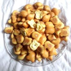 1Kg Bánh Gấu Nhân Kem THIÊN HỒNG Giòn Tan Thơm Ngon – Túi Nilon