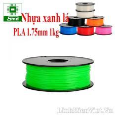 Cuộn nhựa in 3D chất liệu PLA 1.75mm 1kg (màu xanh lá)