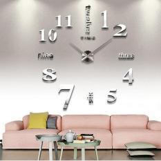 Đồng hồ trang trí treo tường – gắn tường sáng tạo kích thước lớn 3D DH01-B Decoshop68 giá tốt