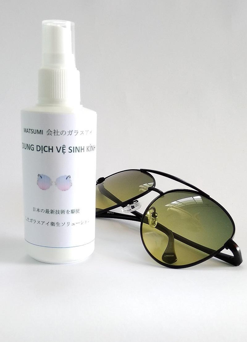 Dung dịch vệ sinh tròng kính Matsumi Glasses MG10