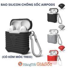 Bao silicon chống sốc cho tai nghe AirPods (ốp chống shock airpod)