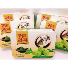 Bánh yến mạch trà xanh 500gr ( liên doanh)