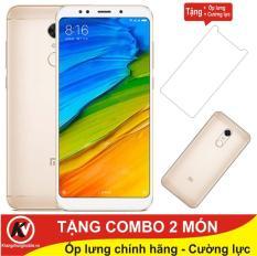 Xiaomi Redmi 5 Plus -32GB Ram 3GB ( Vàng ) – Hàng nhập khẩu + Ốp lưng + Cường lực