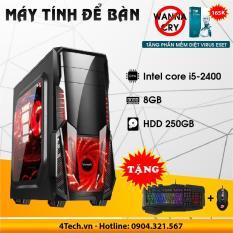 Mua Máy Tính Cấu Hình Cao Intel Core i5 2400, RAM 8GB, HDD 250GB. Tại Shop Computer Laptop