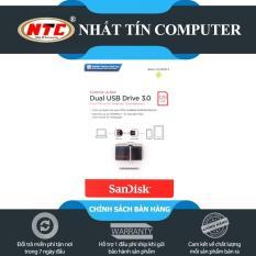 USB OTG Sandisk 3.0 Ultra Dual 128GB 150MB/s (Đen)