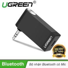 Thiết bị nhận âm thanh Bluetooth Music có hỗ trợ Mic cho Loa, Ô Tô Ugreen 30348 – Hãng phân phối chính thức