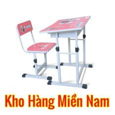 bàn học cho bé cấp 1 BHS-13-06 Màu Hồng