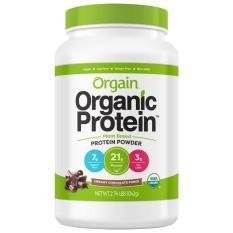 Bột đạm protein thực vật hữu cơ chocolate Orgain 1242g