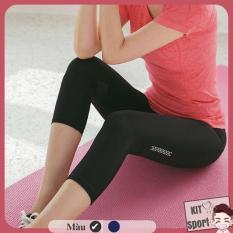 Quần lửng legging thể thao nữ Guru – Hàng nhập khẩu (đồ tập quần áo gym, thể dục,thể hình, yoga) KIT Sport