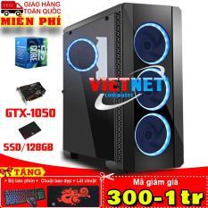 Máy tính chơi game core i5 4460 card vga GTX-1050 Ram 16GB Hdd 500GB + SSD128GB
