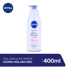 Sữa Dưỡng Thể Nivea Hương Hoa Anh Đào 400ml _ 88441
