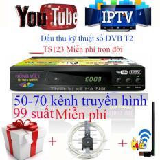 Đầu thu kỹ thuật số DVB T2 TS123 Chức năng xem Youtube,IPTV 2018