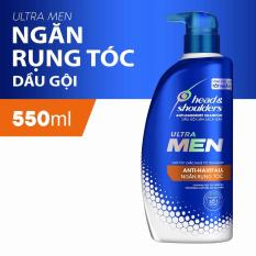 Dầu Gội Cho Nam Head&Shoulders UltraMen Ngăn rụng tóc 550ml