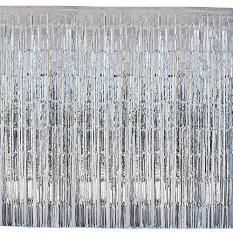 Rèm kim tuyến 1×2 mét ( màu bạc)