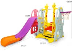 Cầu Trượt Trẻ em 5 Trong 1 cao cấp T380 (Bán chạy 2018)