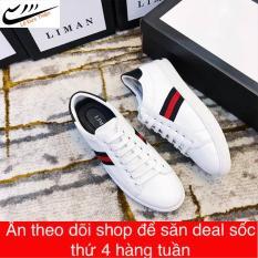 Giày sneanam thời trang tặng kèm lọ tẩy trắng giày