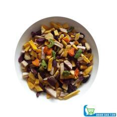 Combo 2kg trái cây sấy hàng vụn (1kg chuối 1kg khoai lang)