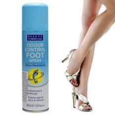 Xịt khử mùi chân Beauty Formulas – chai 150ml