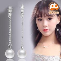 Bông tai nữ inox cao cấp sang trọng rẻ đẹp không đen HCM 325
