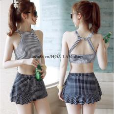 Bikini 2 Mảnh Ca Rô HLAT019 – Hoa Lan