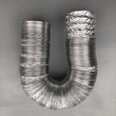 Ống gió bạc thông khói, thông khí phi 110 (lắp vừa ống phi 110)