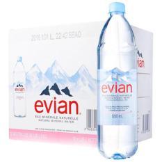 Nước khoáng Evian chai 1.25 lít