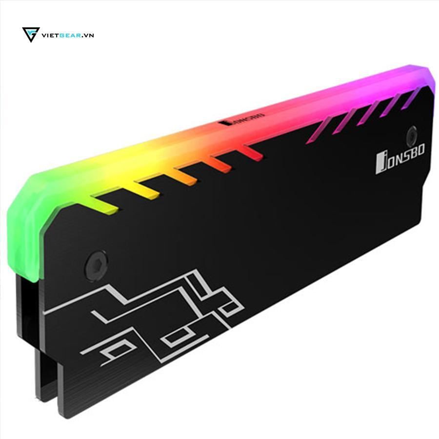 Tản nhiệt ram Jonsbo NC-1 Led RGB màu đen chất lượng cao giá rẻ Đang Bán Tại Vietgear.vn (Hà Nội)