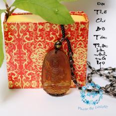 Chuỗi hạt đeo cổ mặt Đại Thế Chí Bồ Tát – Phật bản mệnh người tuổi Ngọ
