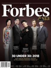 Tạp chí Forbes Asia – April 2018