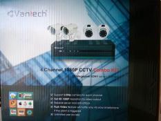 Trọn bộ 2 camera Vantech 2Mpx full 1080HD