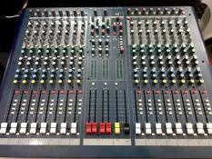 MIXER SOUNDCRAFT LX9-16 CHANNEL PRO
