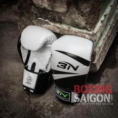 Găng tay Boxing BN ( Trắng )