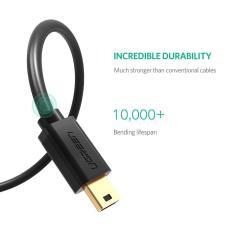 Cáp Mini USB to USB 2.0 mạ vàng dài 0,5m Ugreen 10354