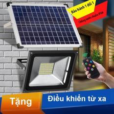 Đèn pha năng lượng mặt trời công suất 30W cao cấp kèm điều khiển từ xa chất lượng cao